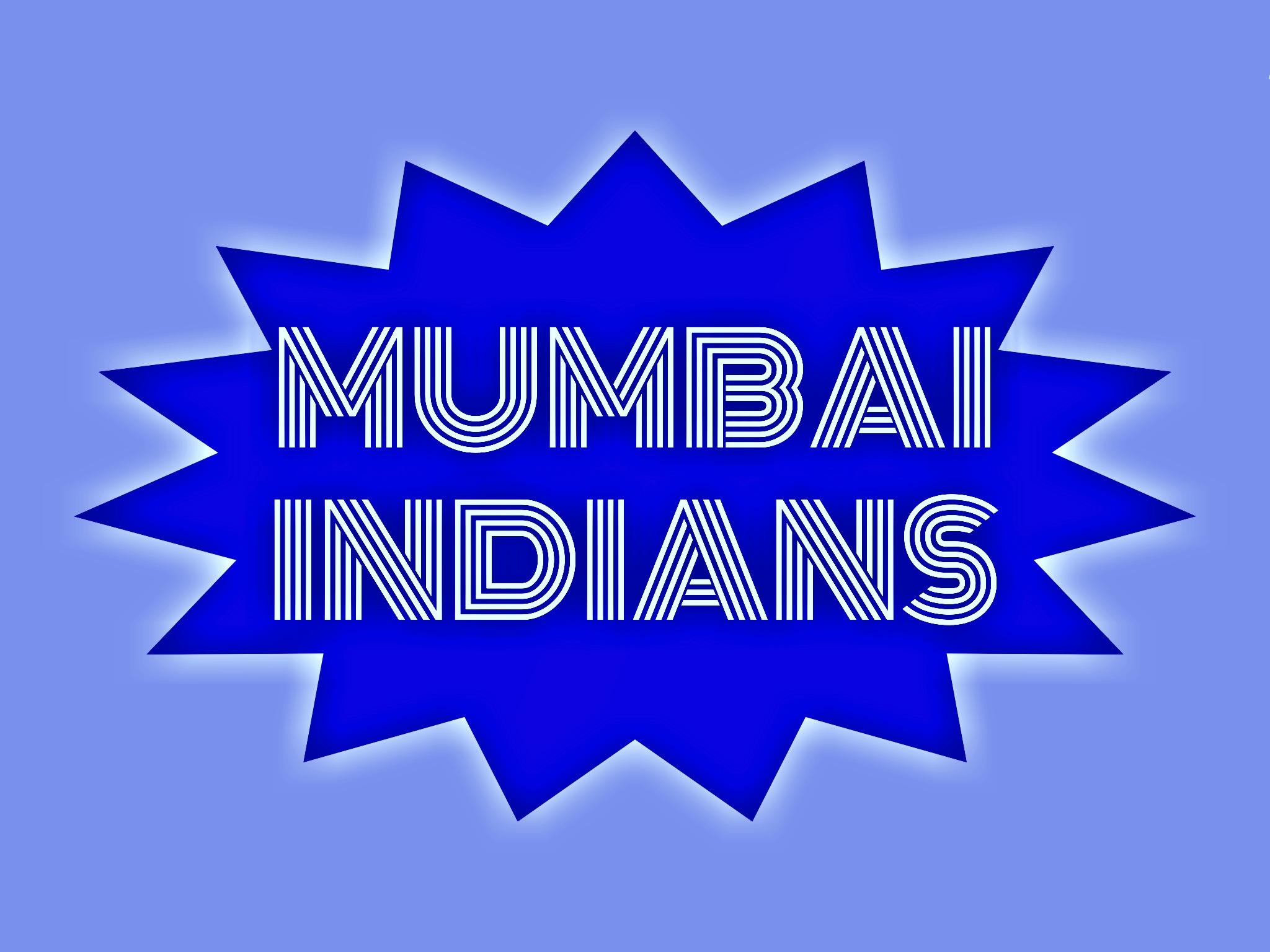 Mumbai Indians Logo Illustration