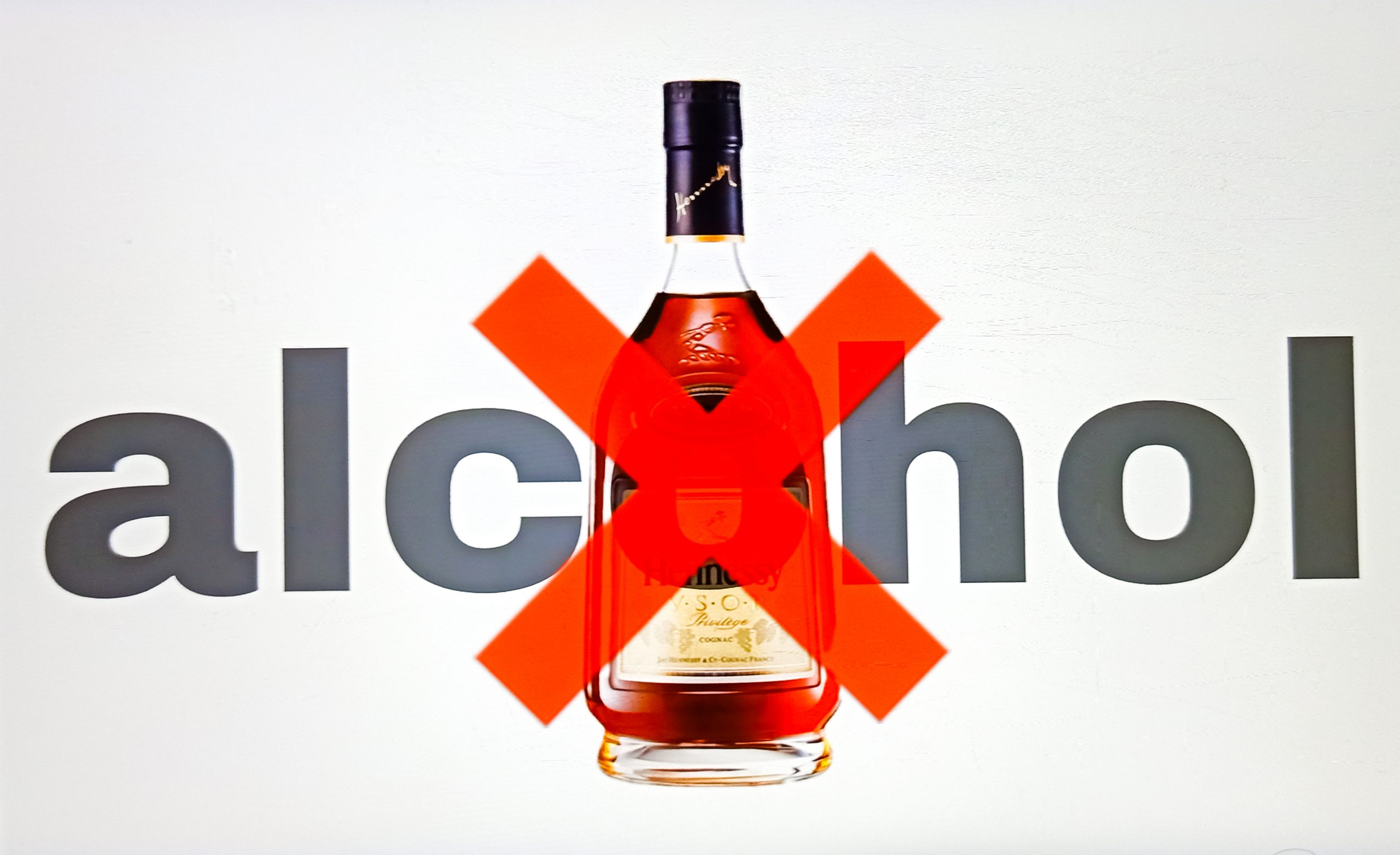 No Alcohol Illustration