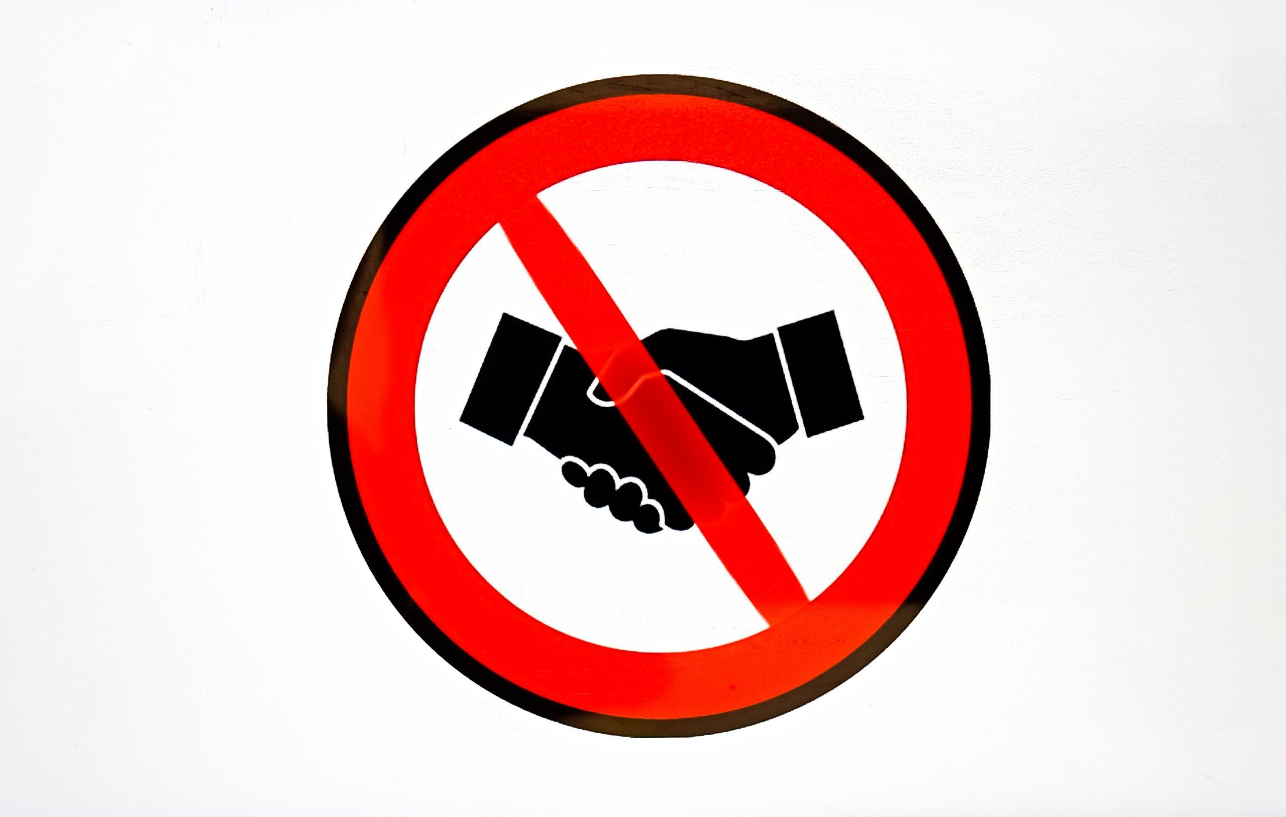 No Handshake new norm