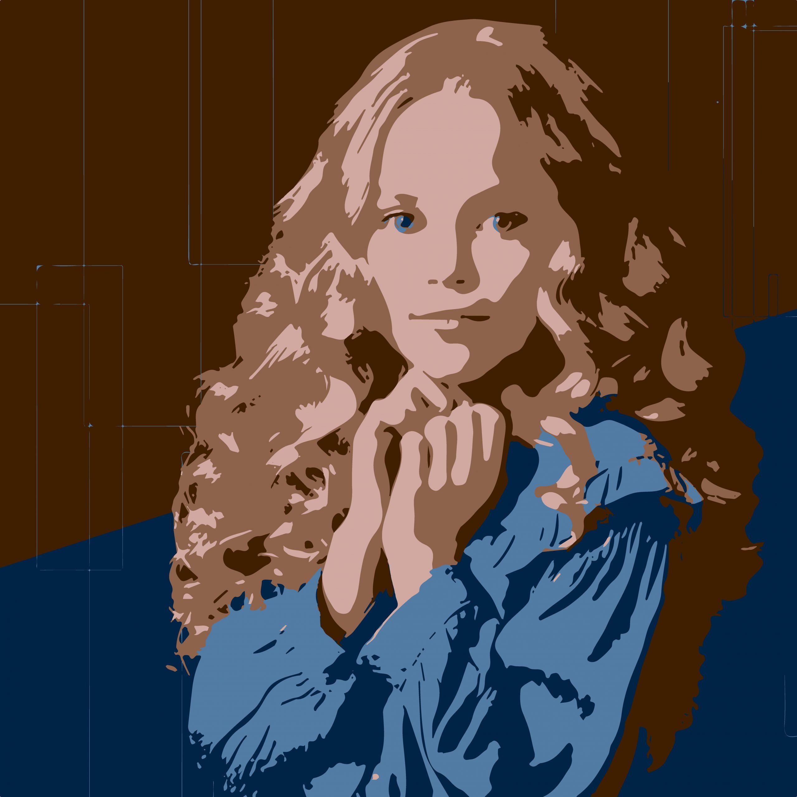A long hair girl