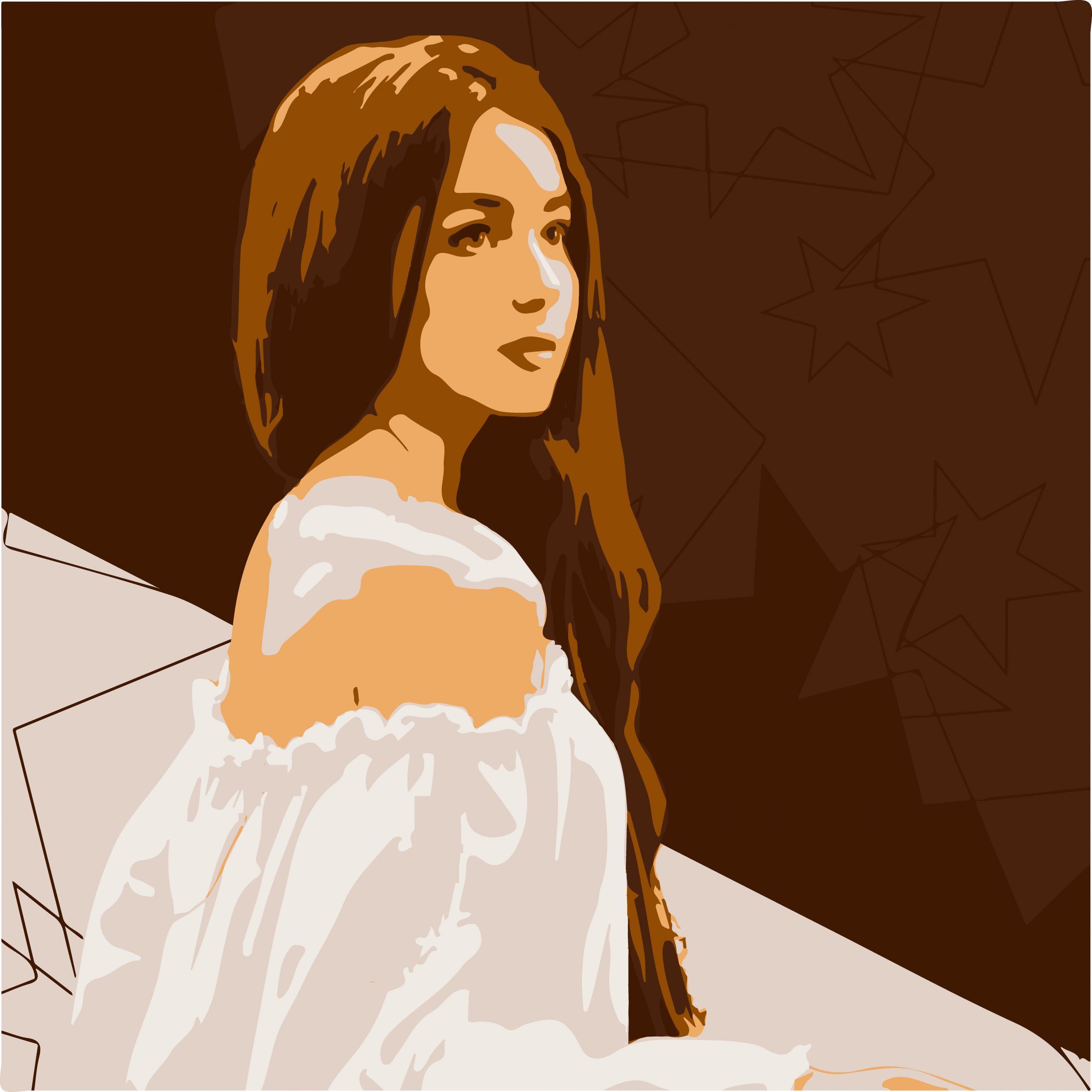 PORTRAIT ILLUSTRATION of Girl