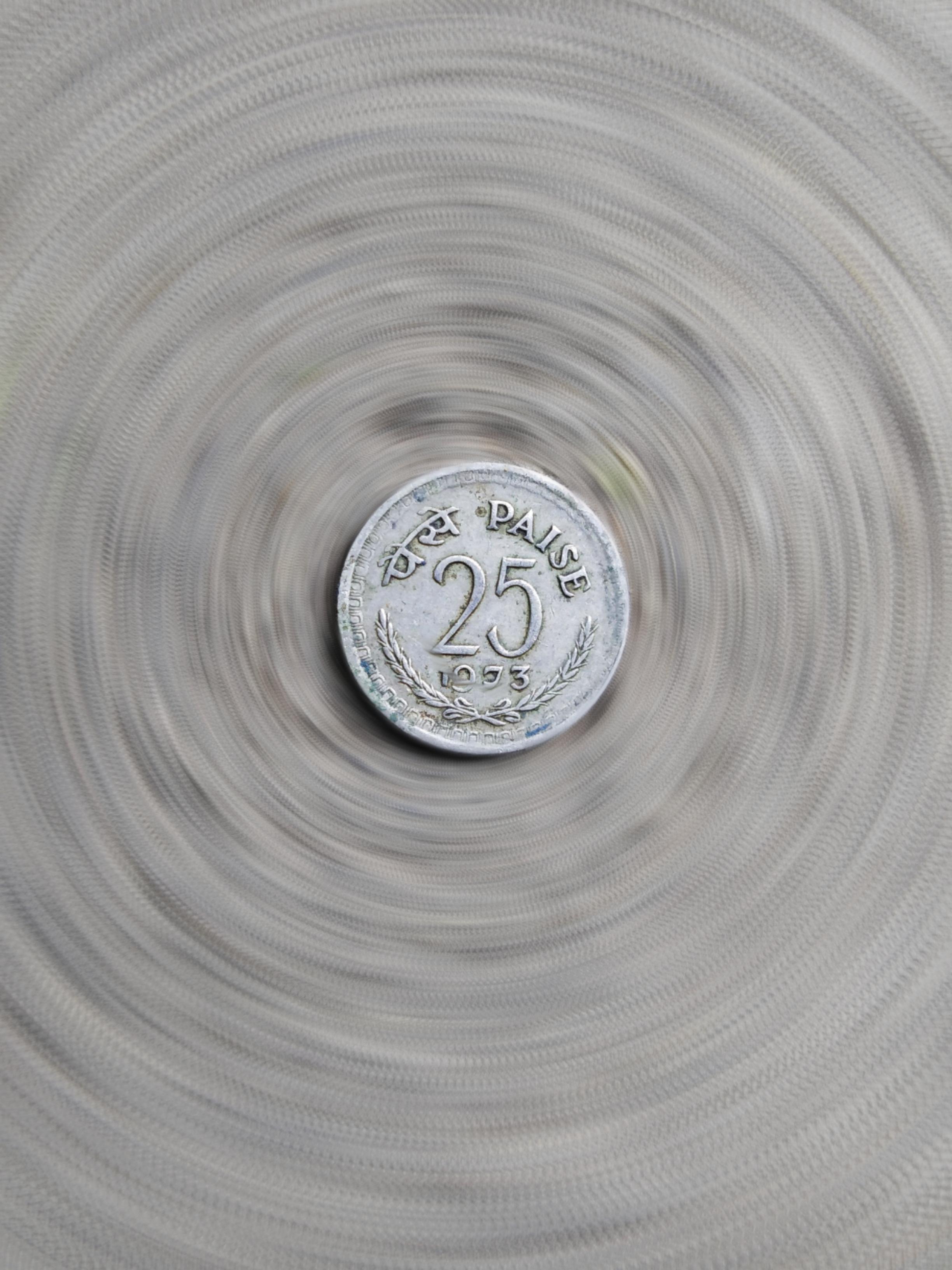 25 paisa coin