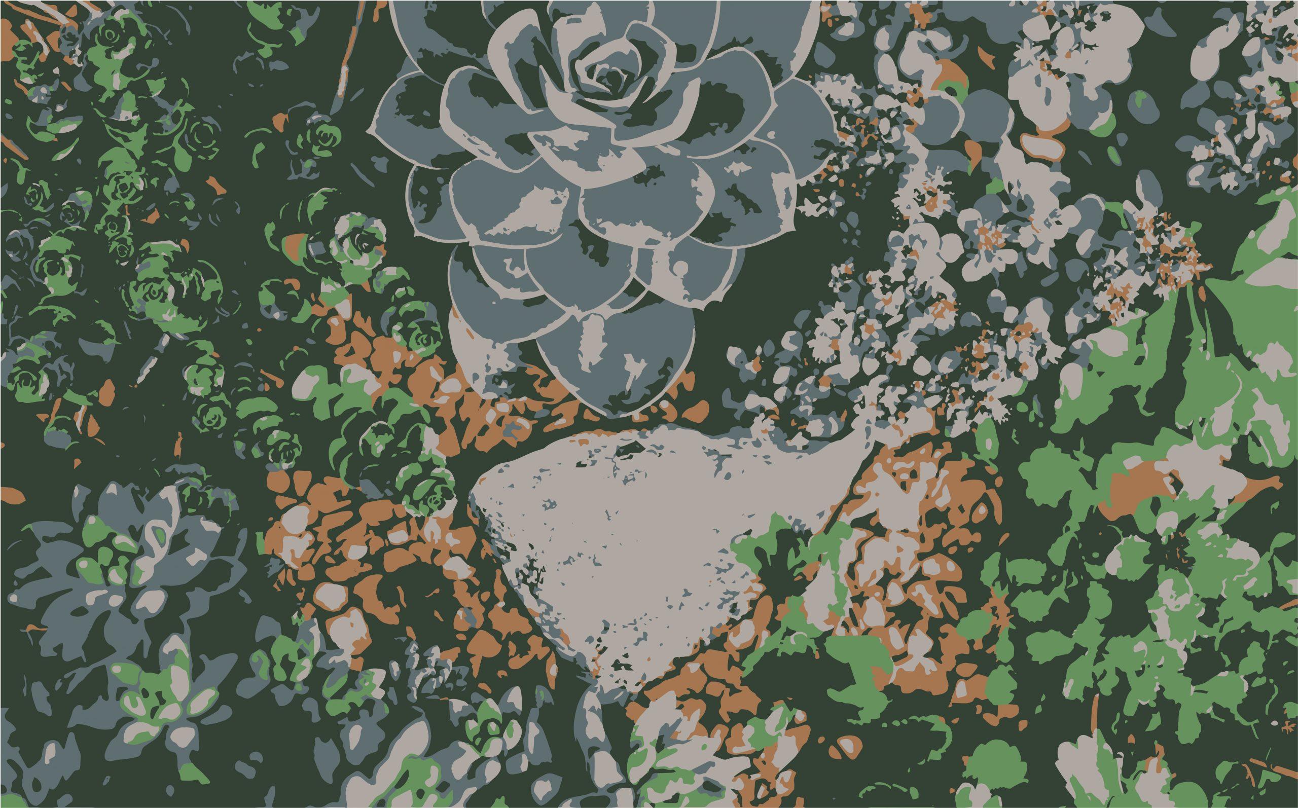 Plants and leaves illustration