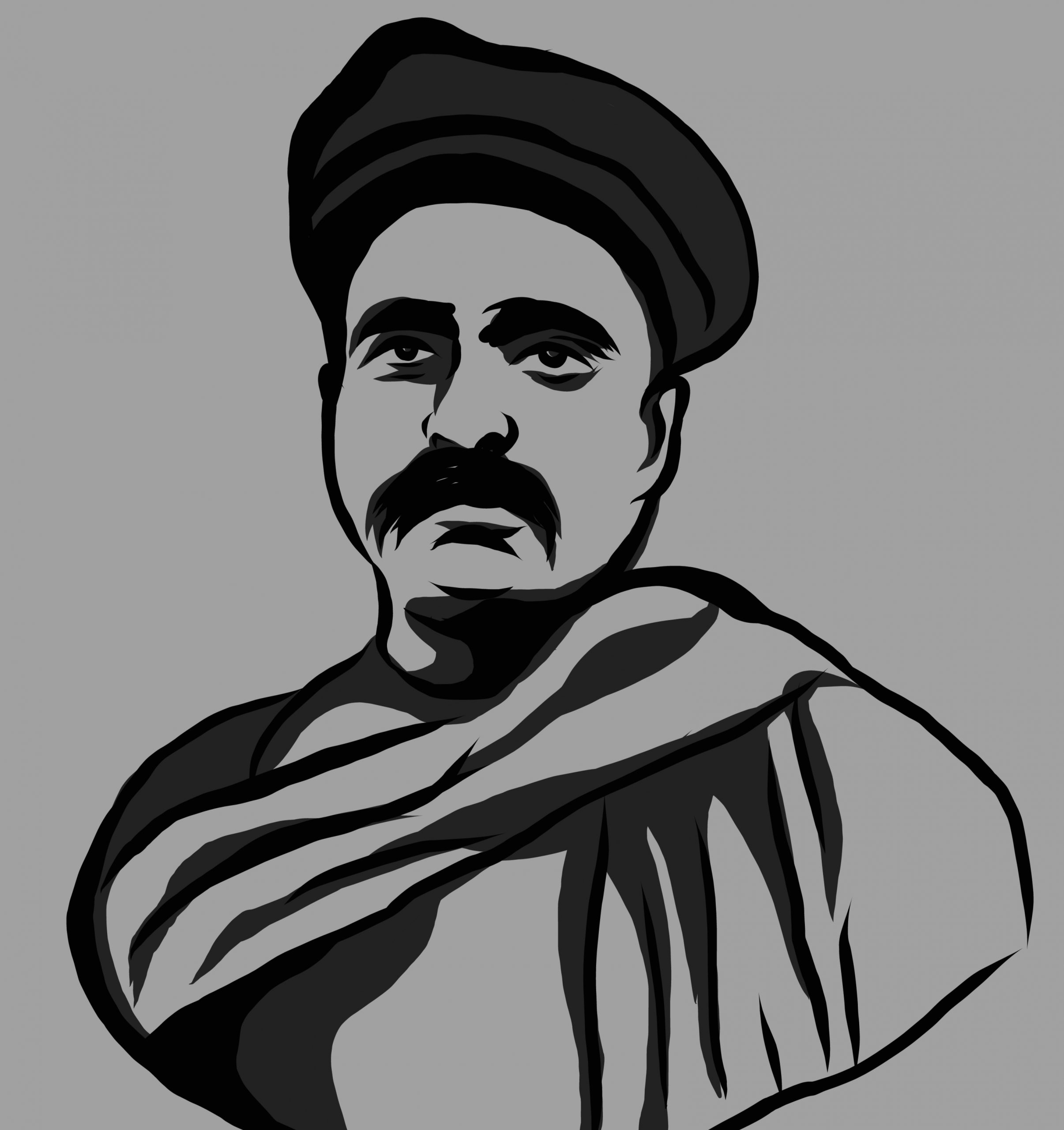 Portrait of Bal Gangadhar Tilak
