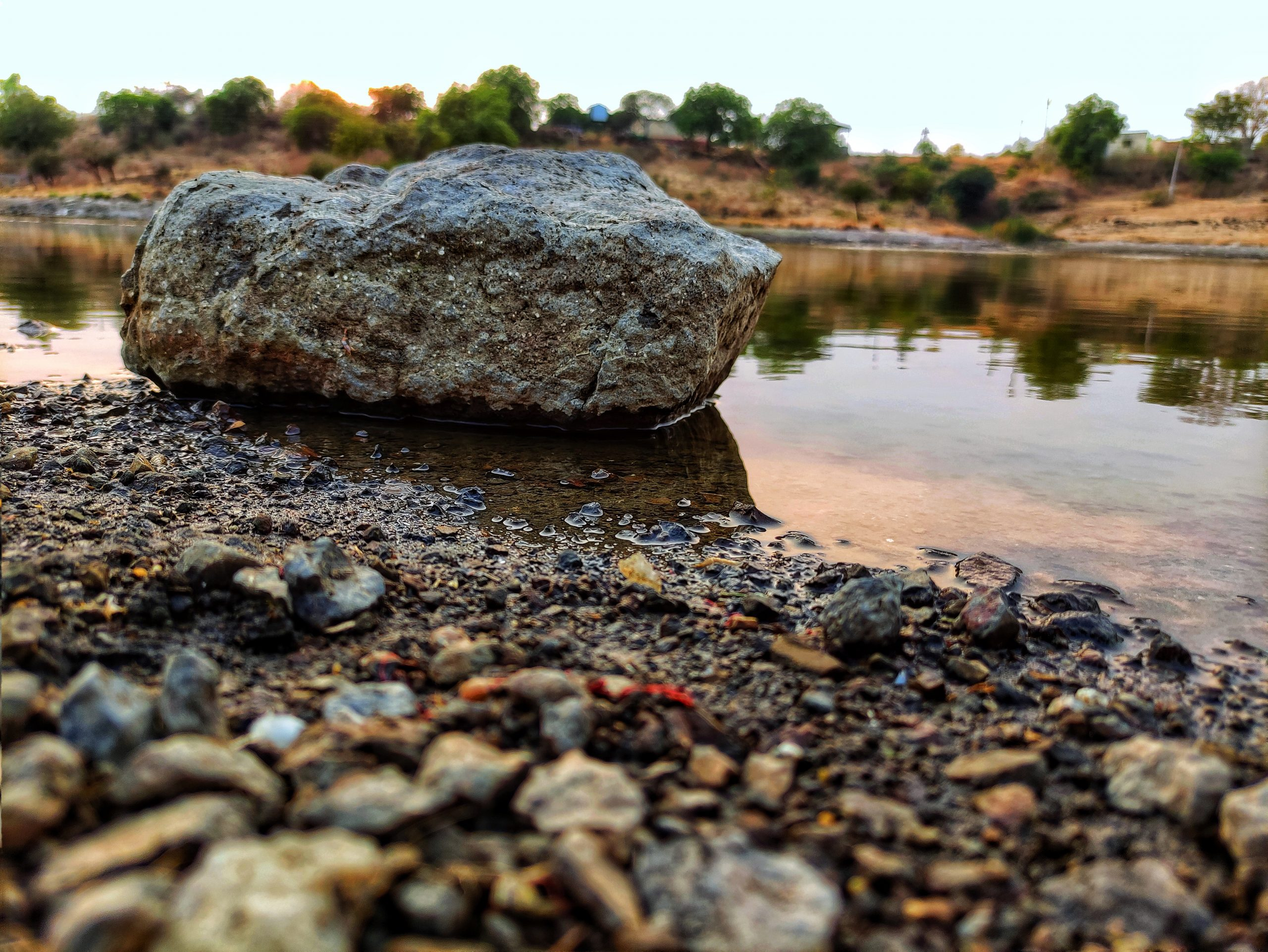 Rocks in the river
