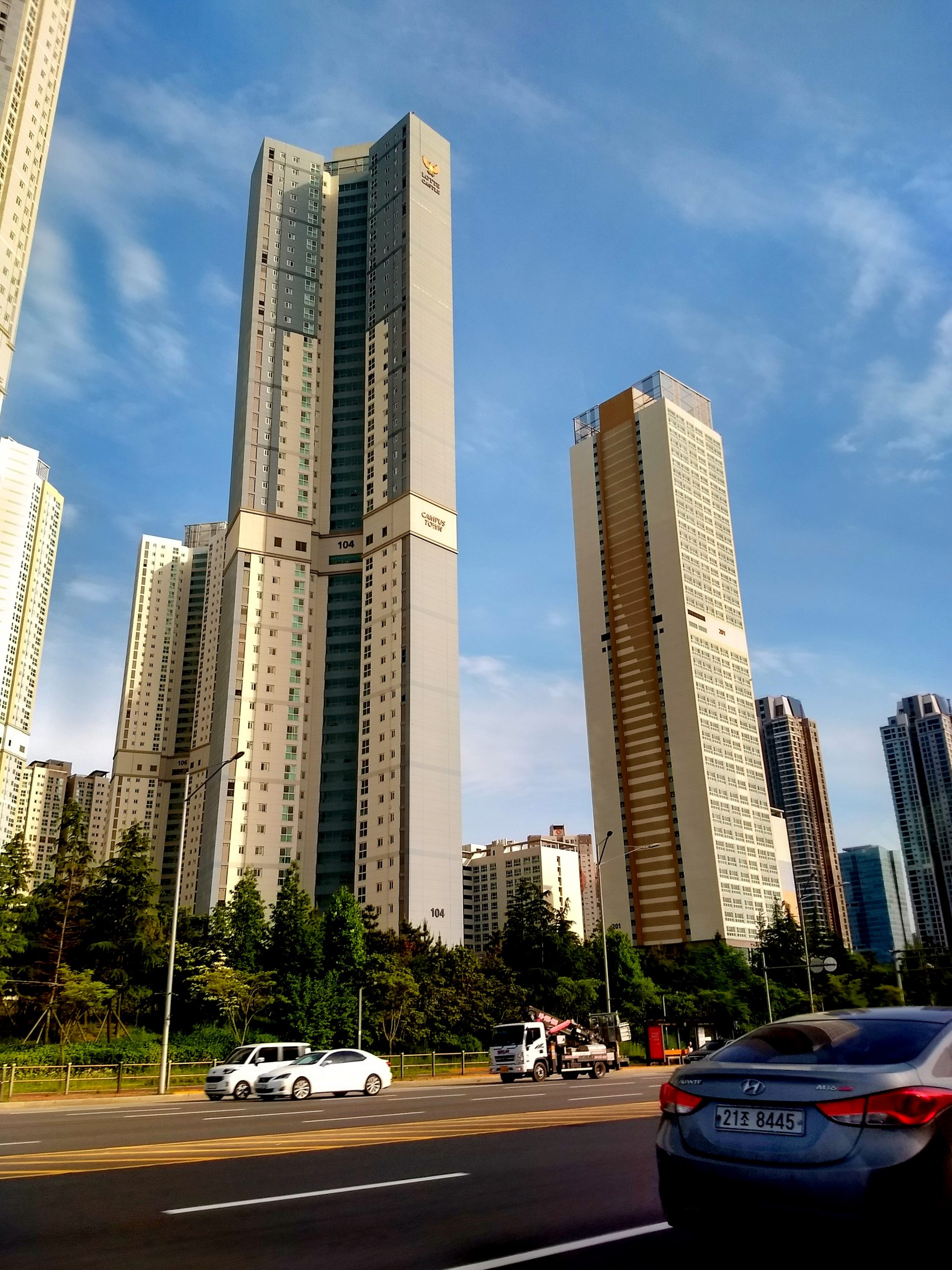 Tall buildings of South Korea