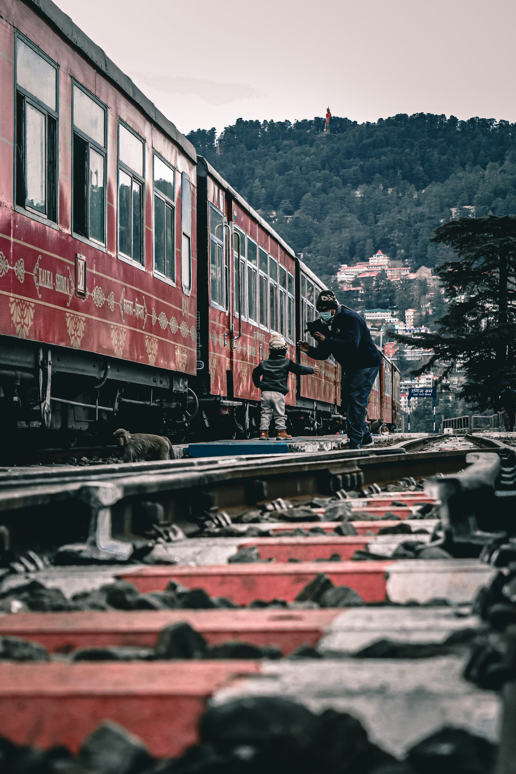 A train in Shimla