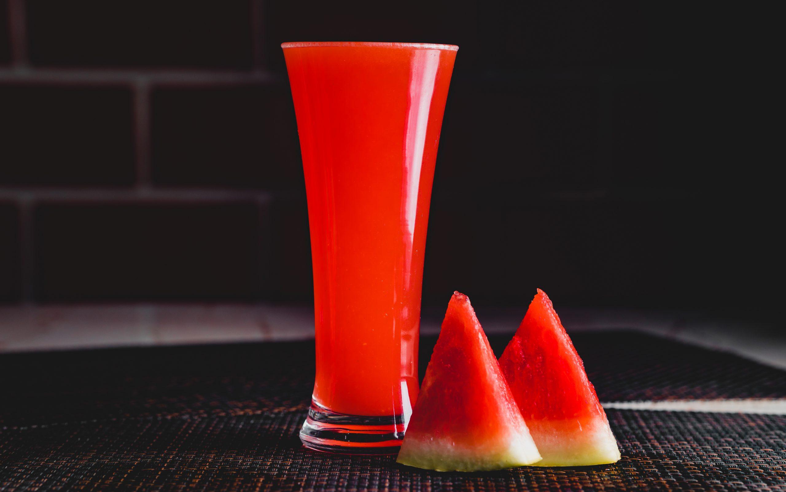 Watermelon and watermelon juice