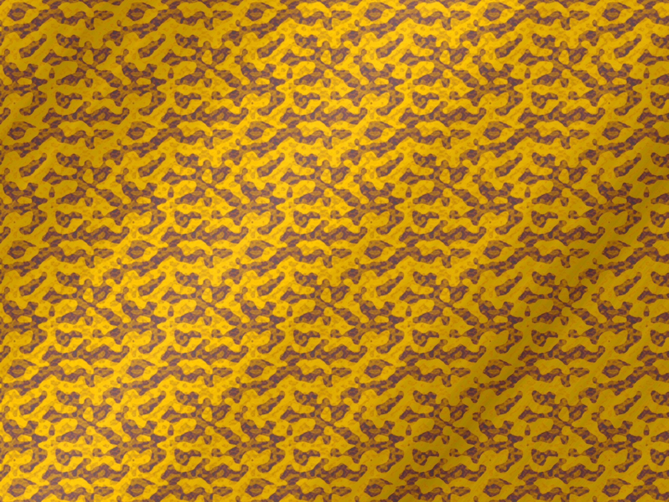 Yellow color pattern illustration