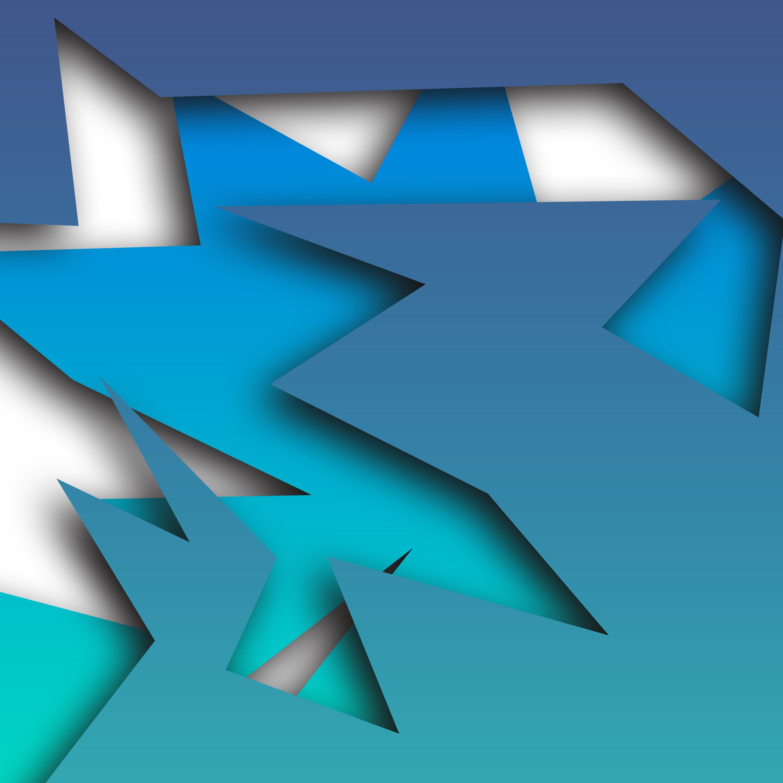 Paper shapes illustration