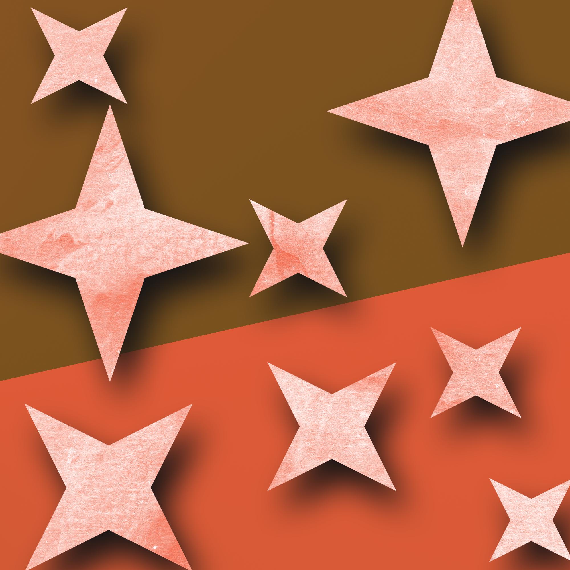 graphics illustration of stars