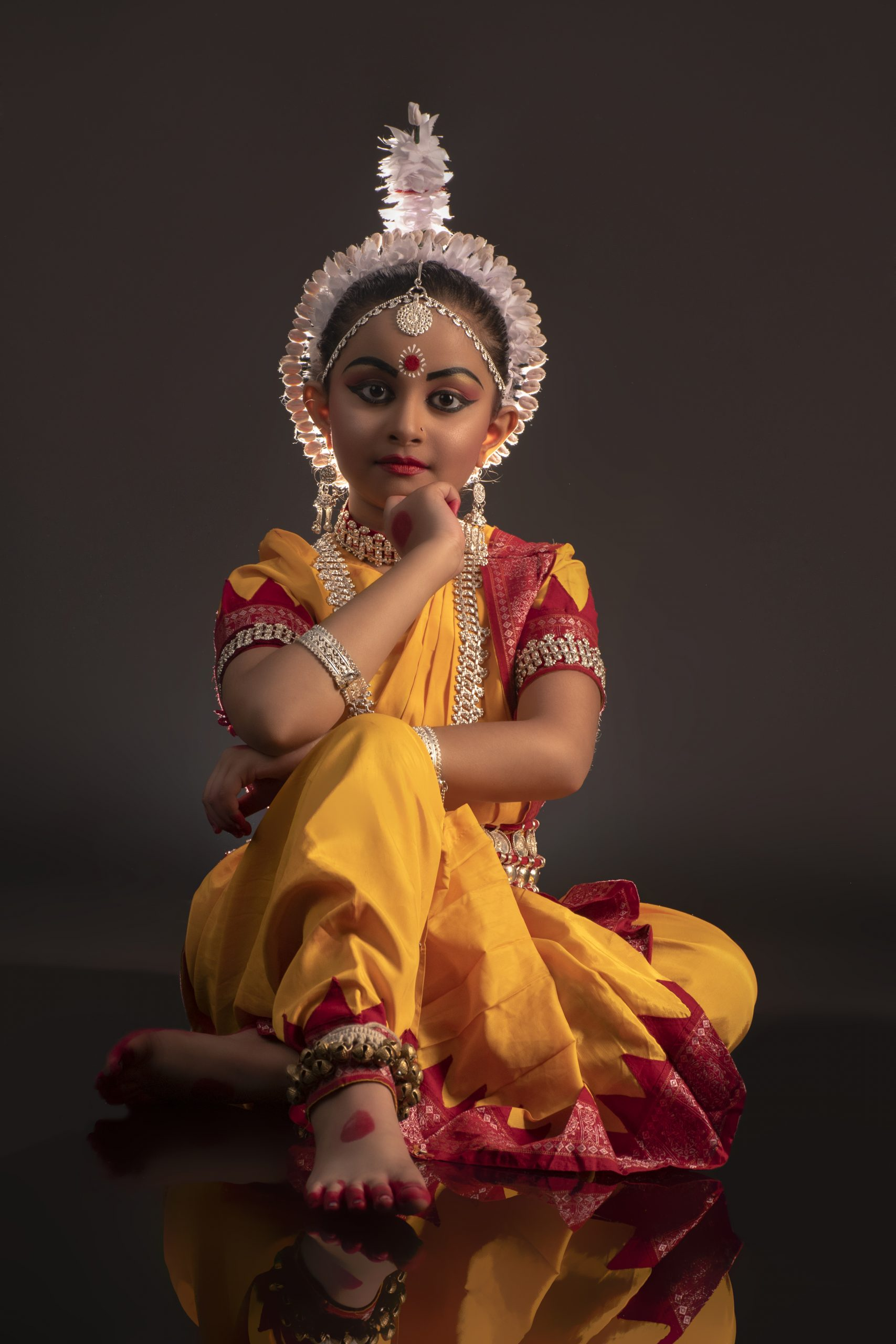 A child dancer