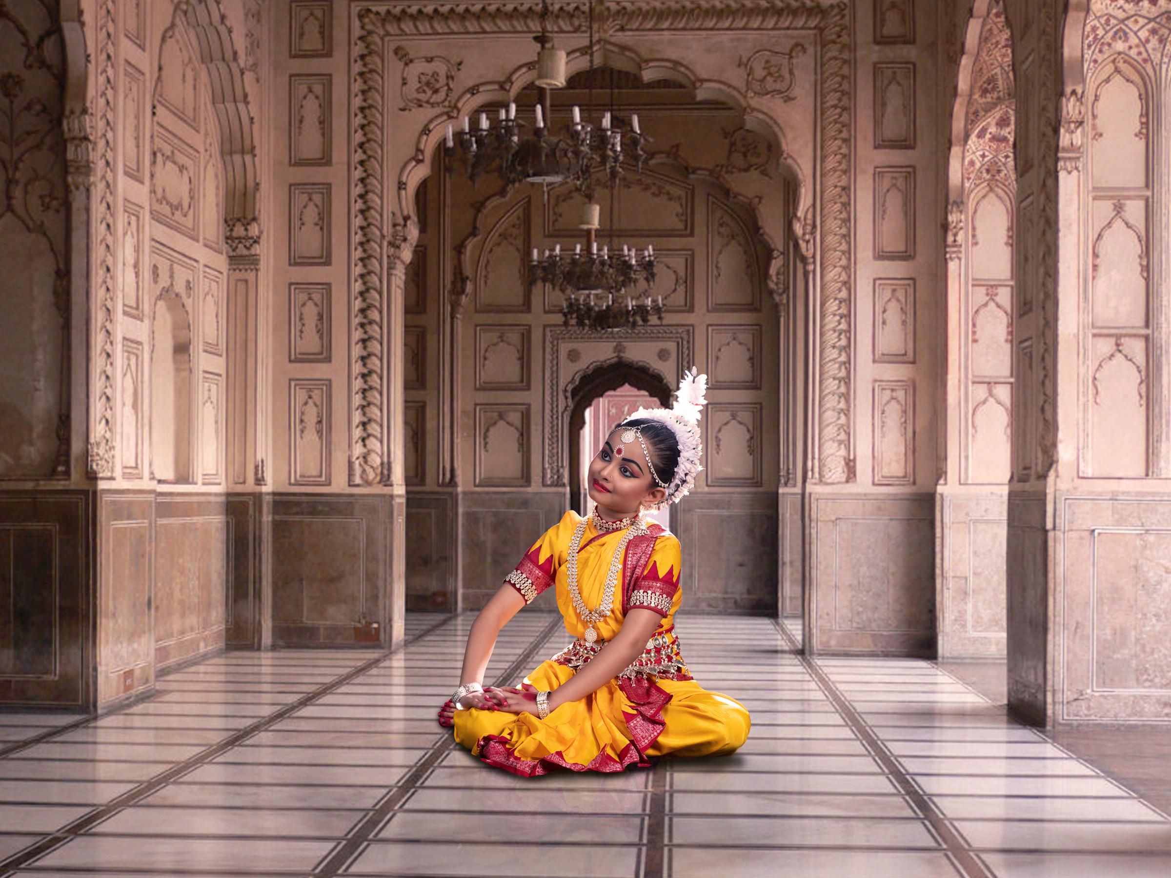 A classical dancer