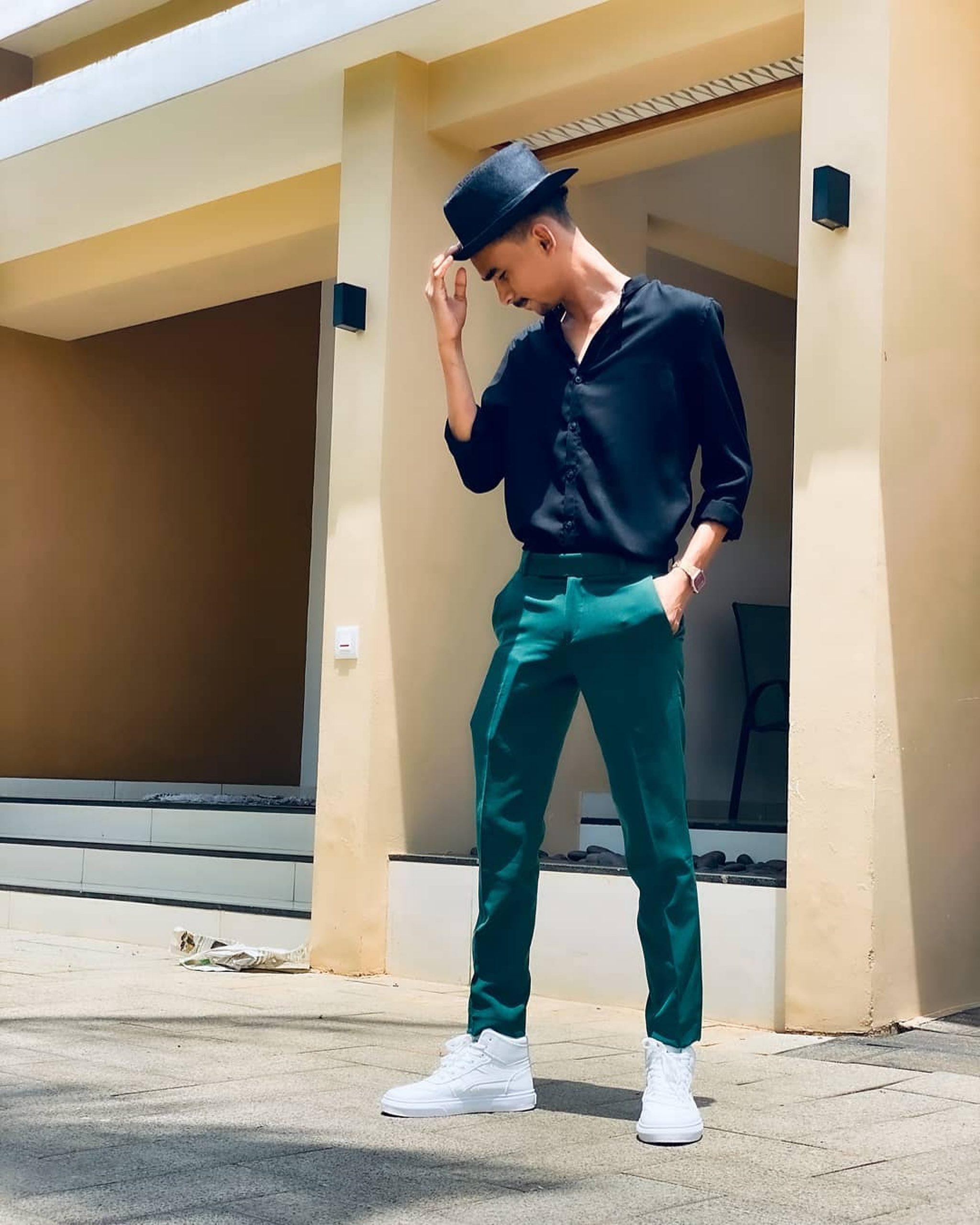 A stylish boy