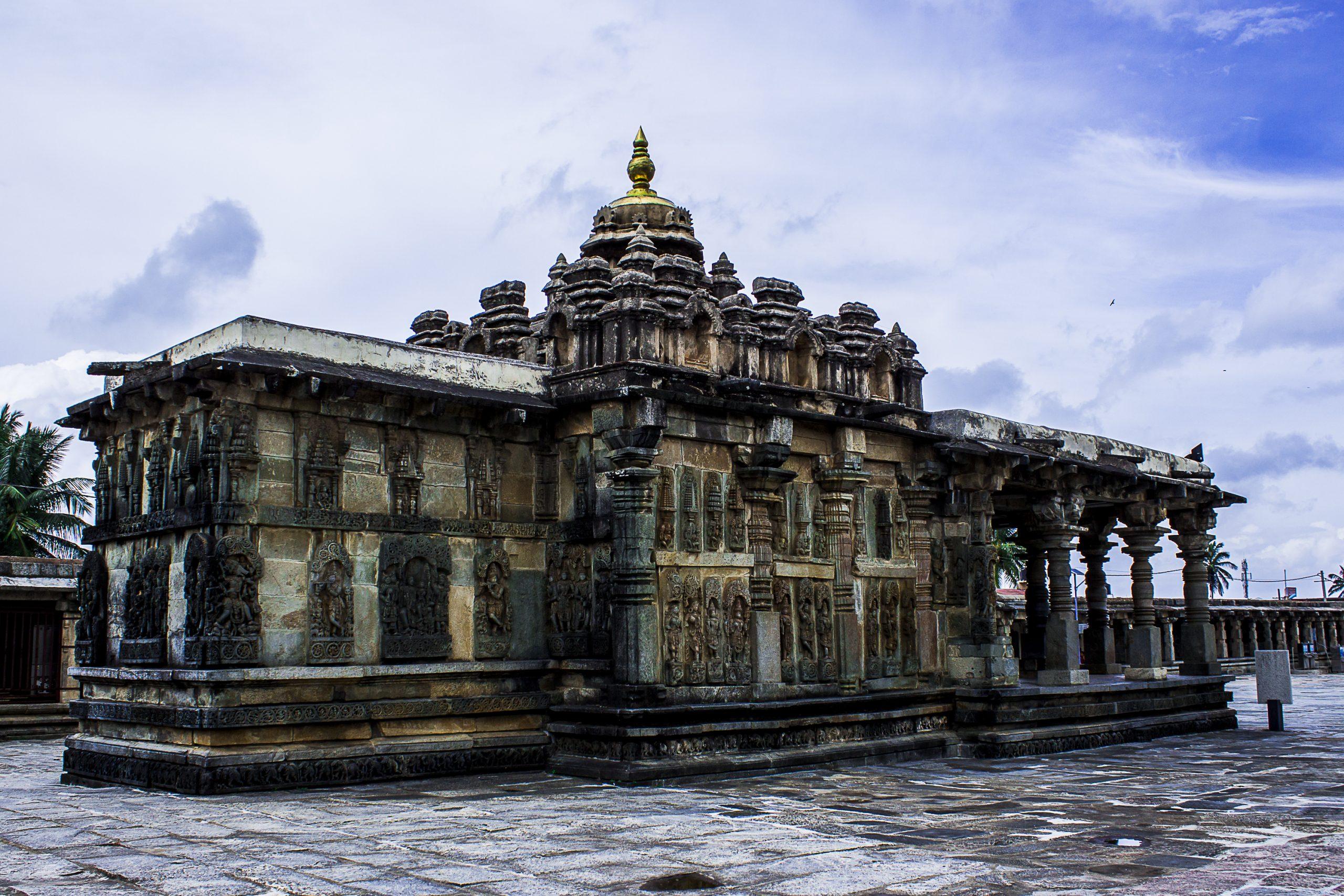 An ancient Temple in Beluru