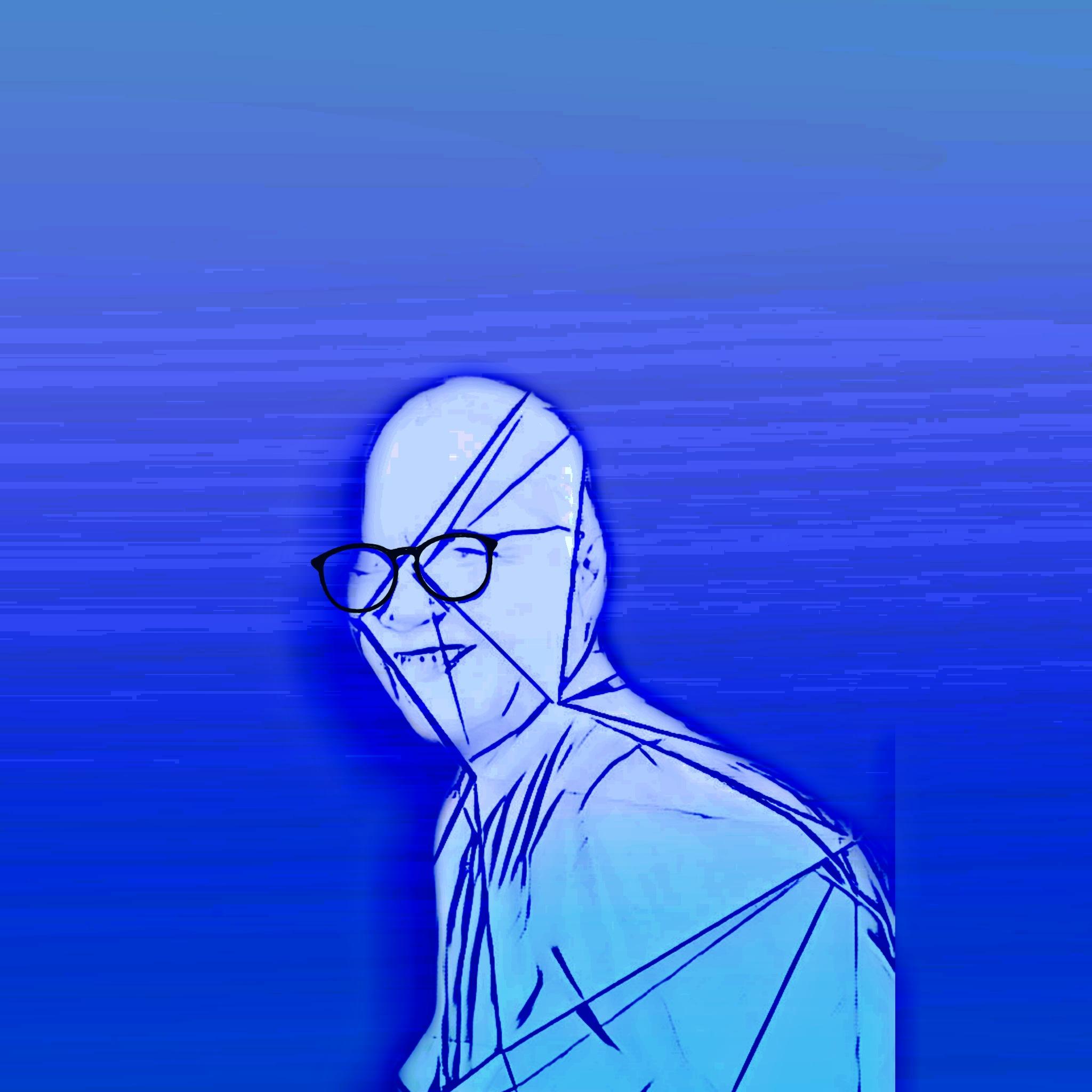 Animated face illustration