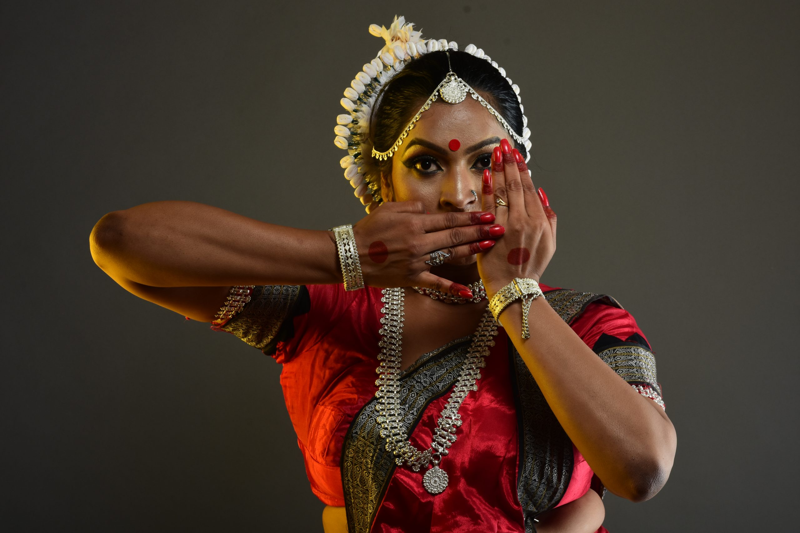 Dancer with expressions