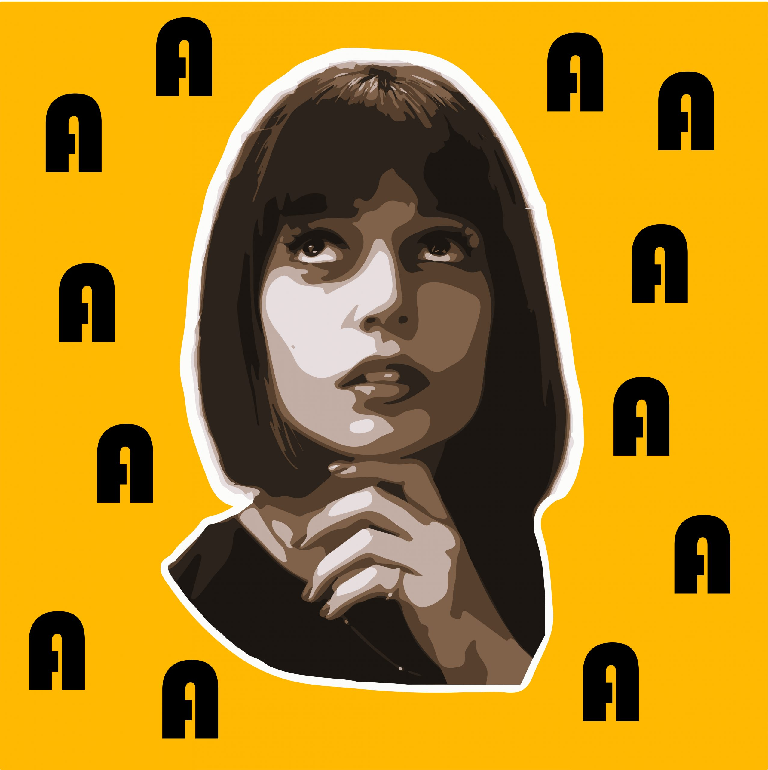 Creative Lady face Portrait Illustration