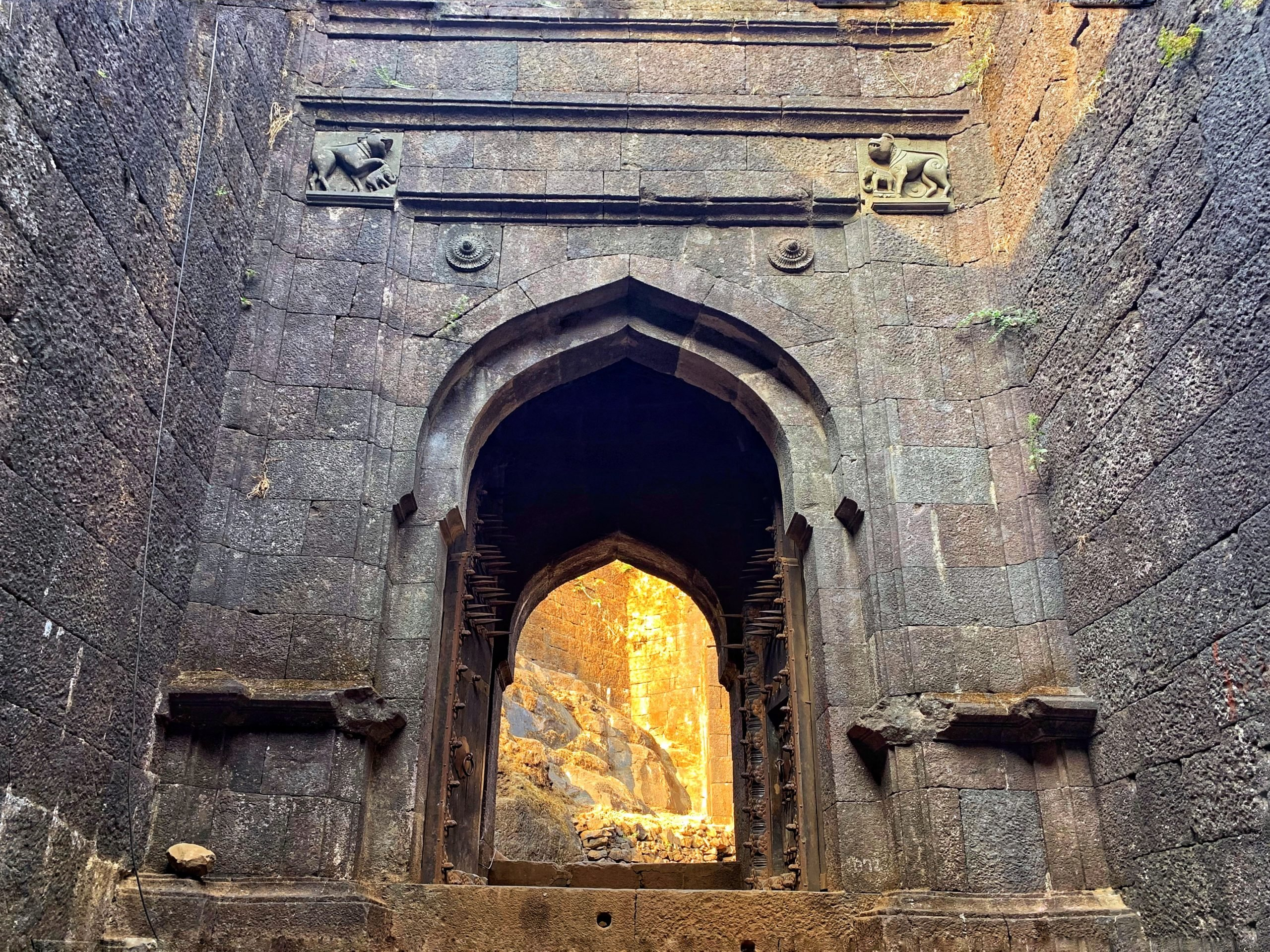 Entrance of a fort