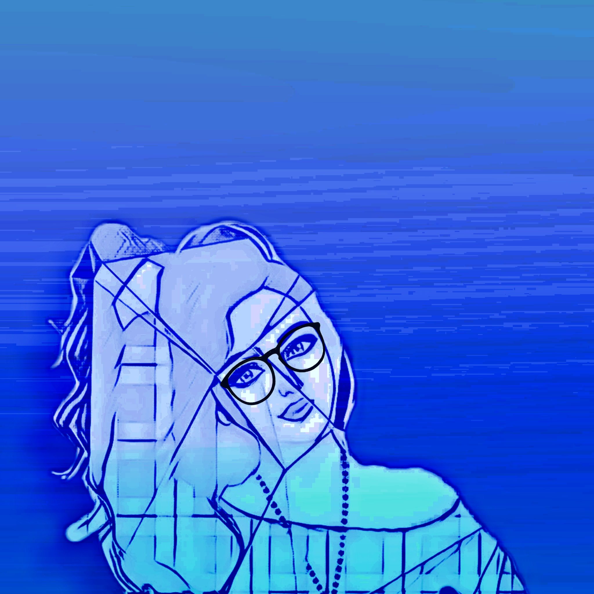 A girl's illustration
