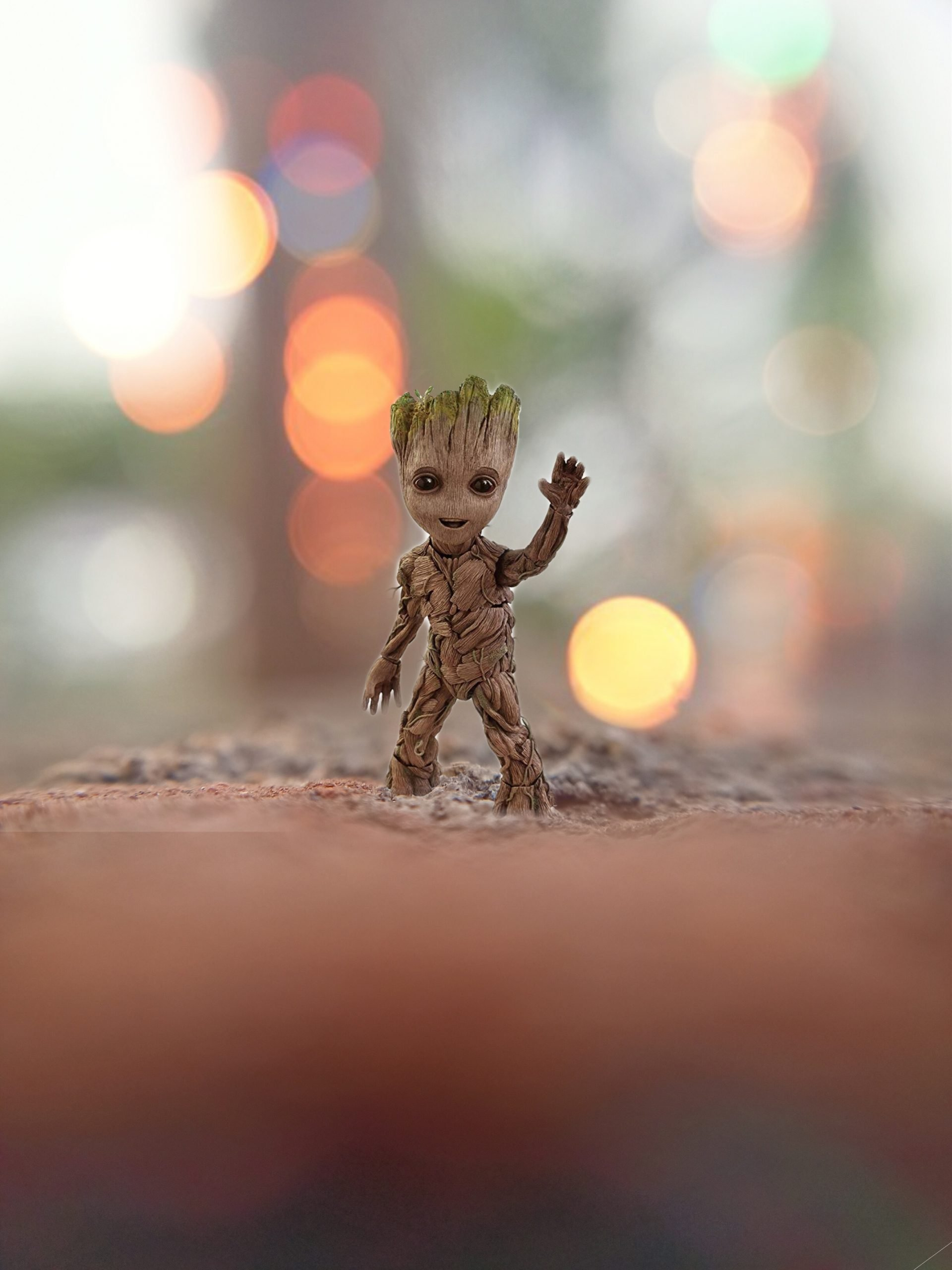Groot animated character