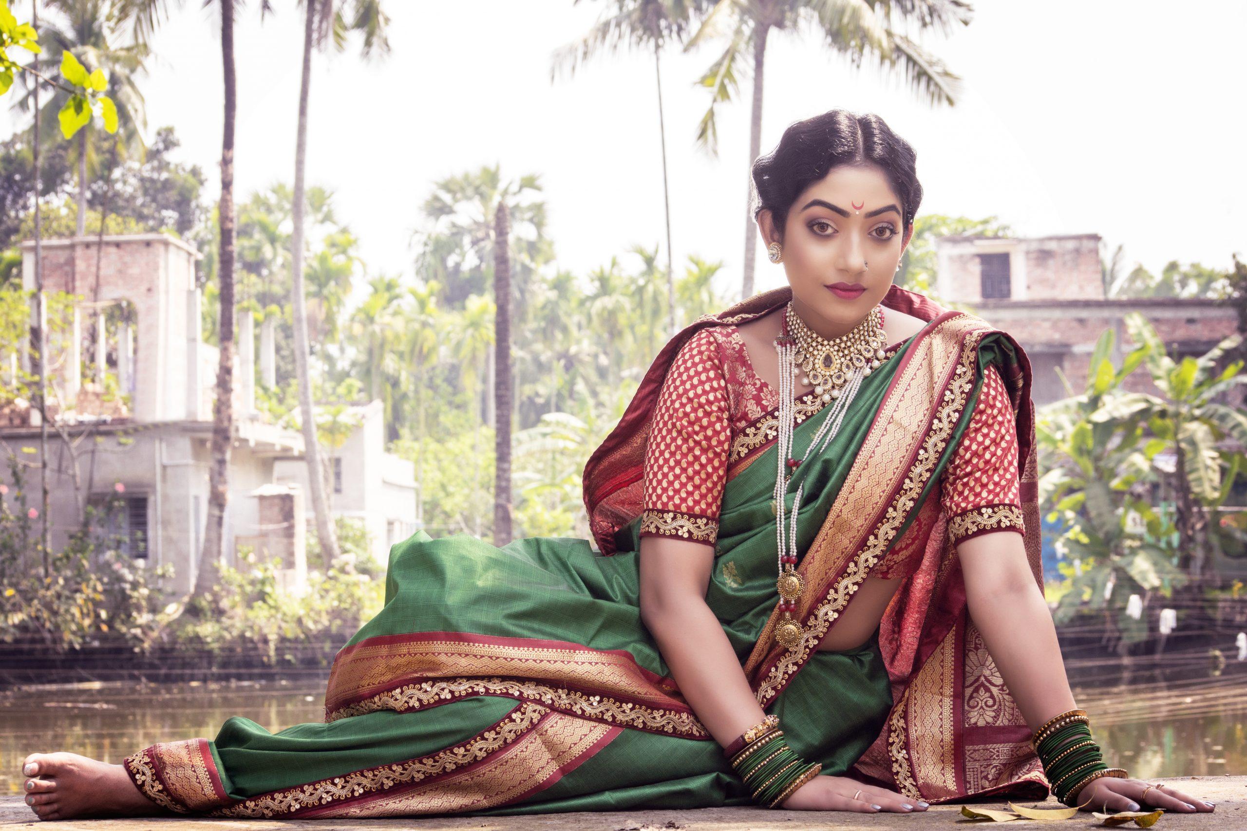 Indian woman in saree