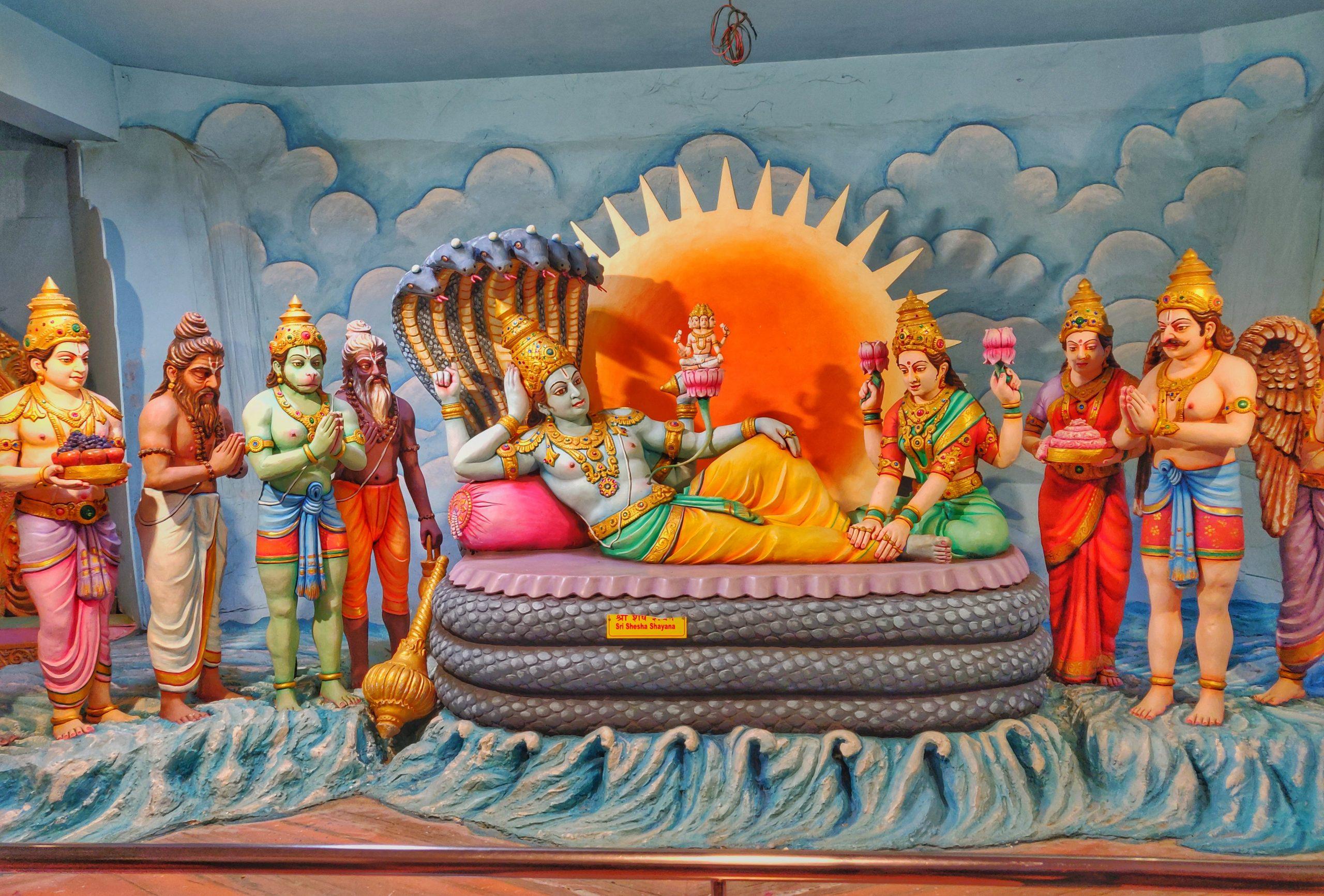 Hindu Lords statues