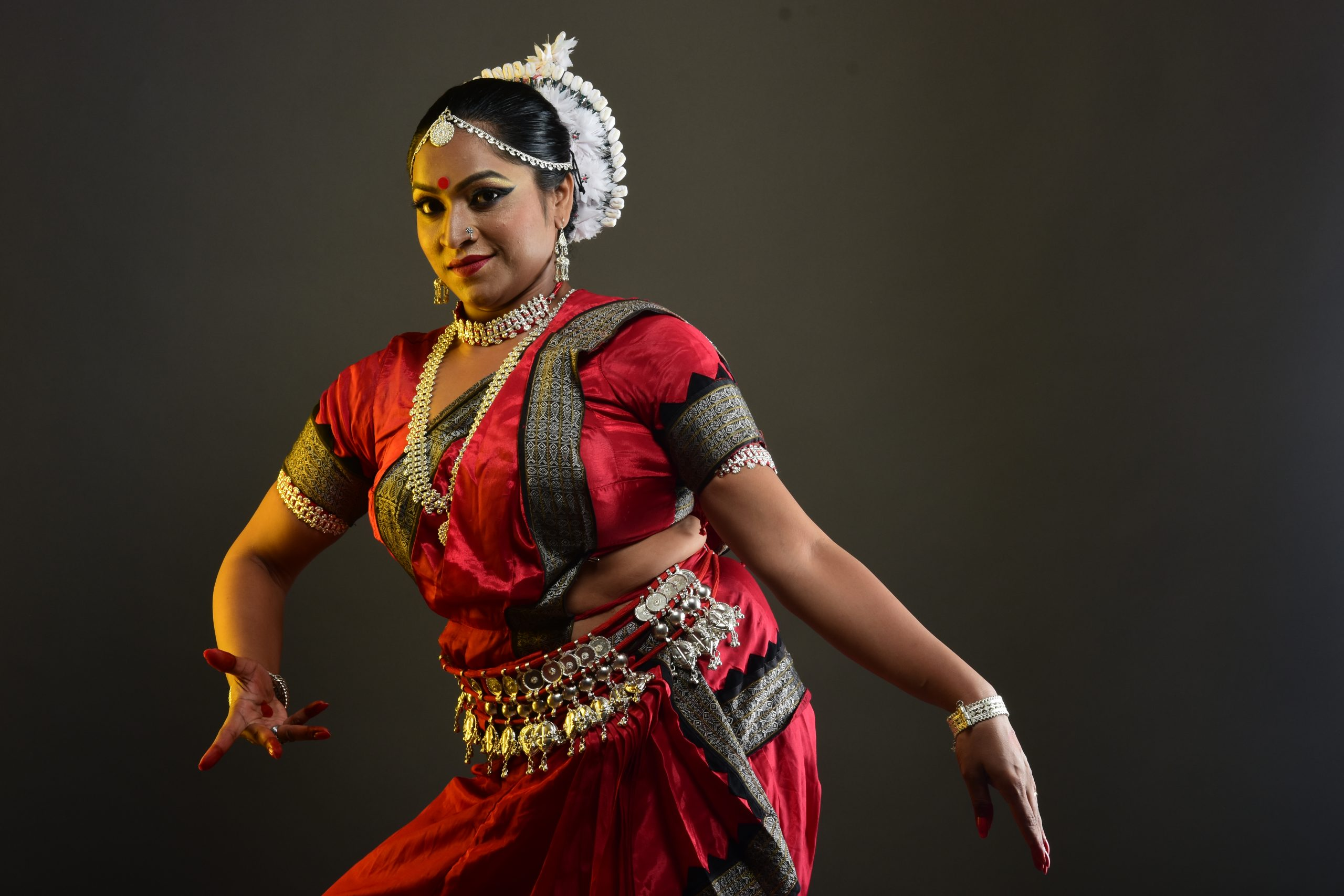 A female classical dancer