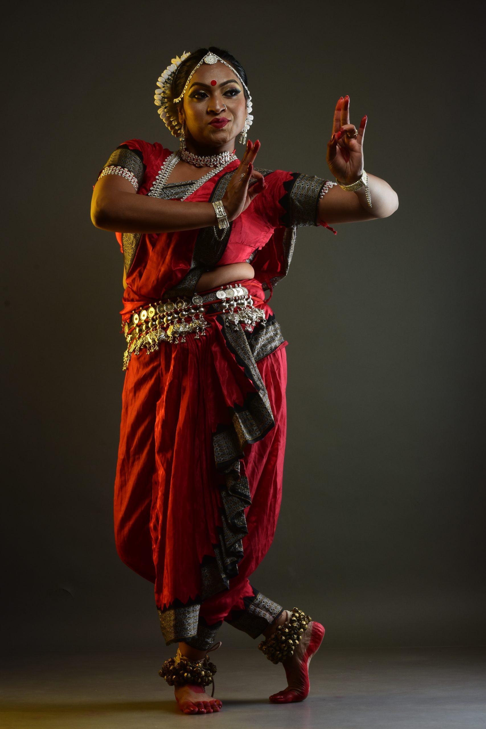 Odissi classical dance artist