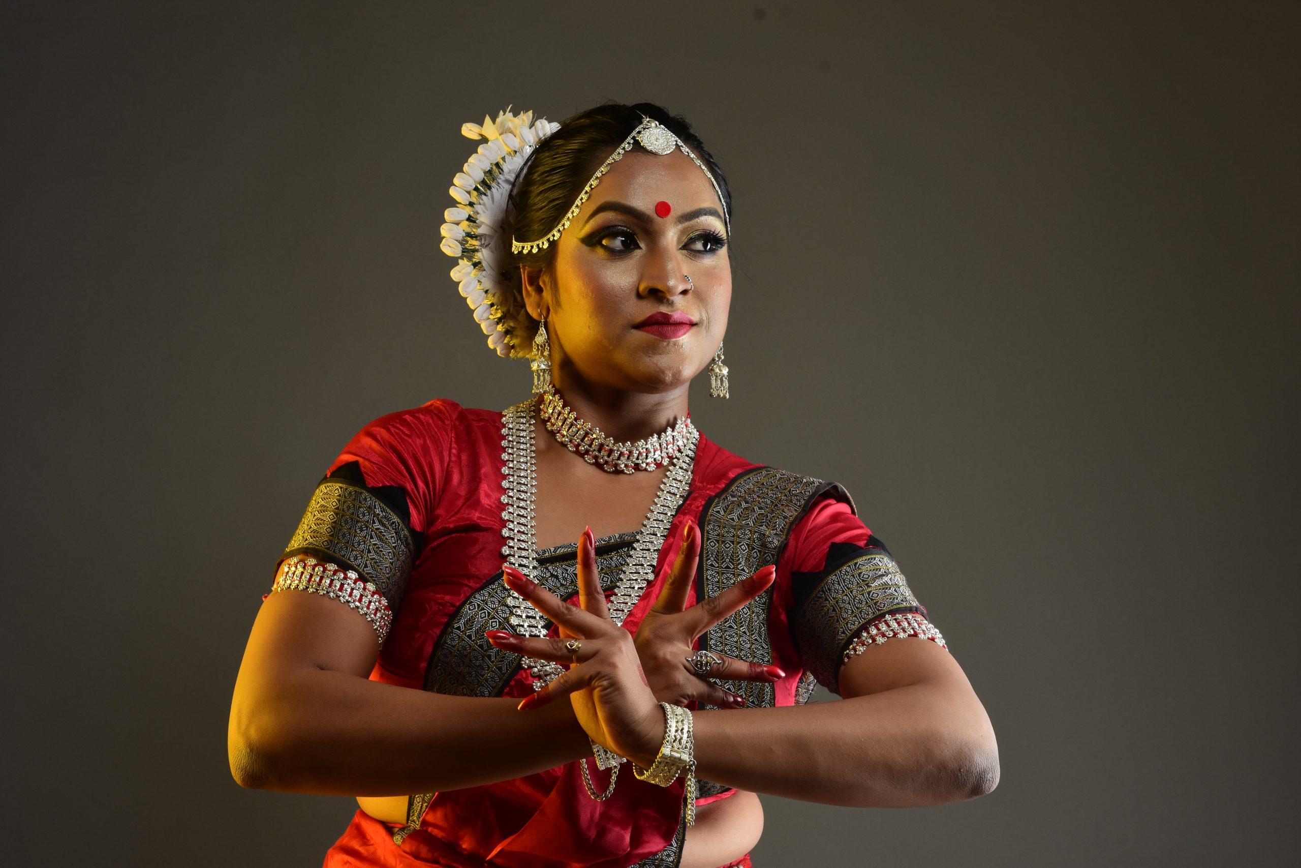 Odissi dance step