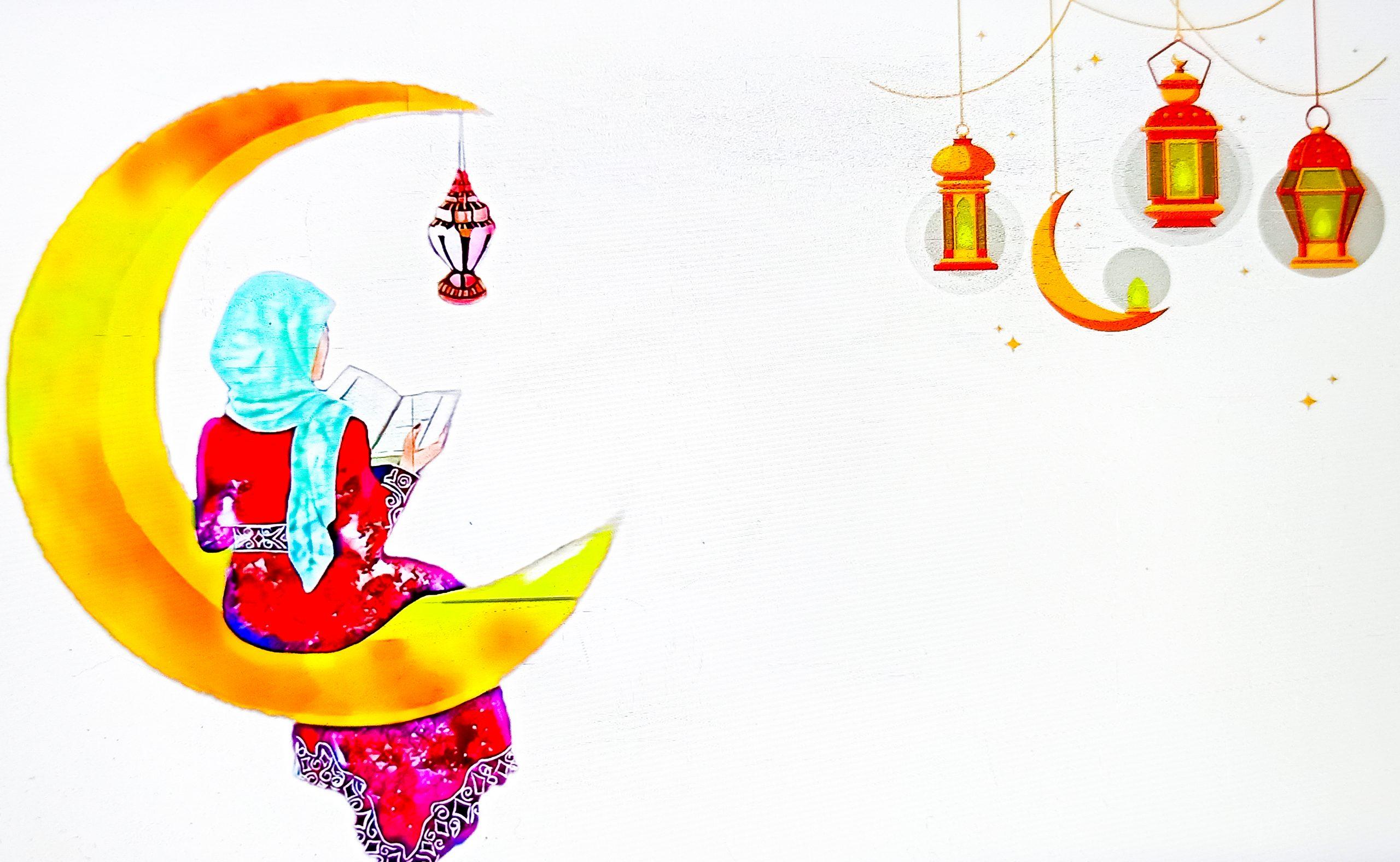 Ramzan Illustration