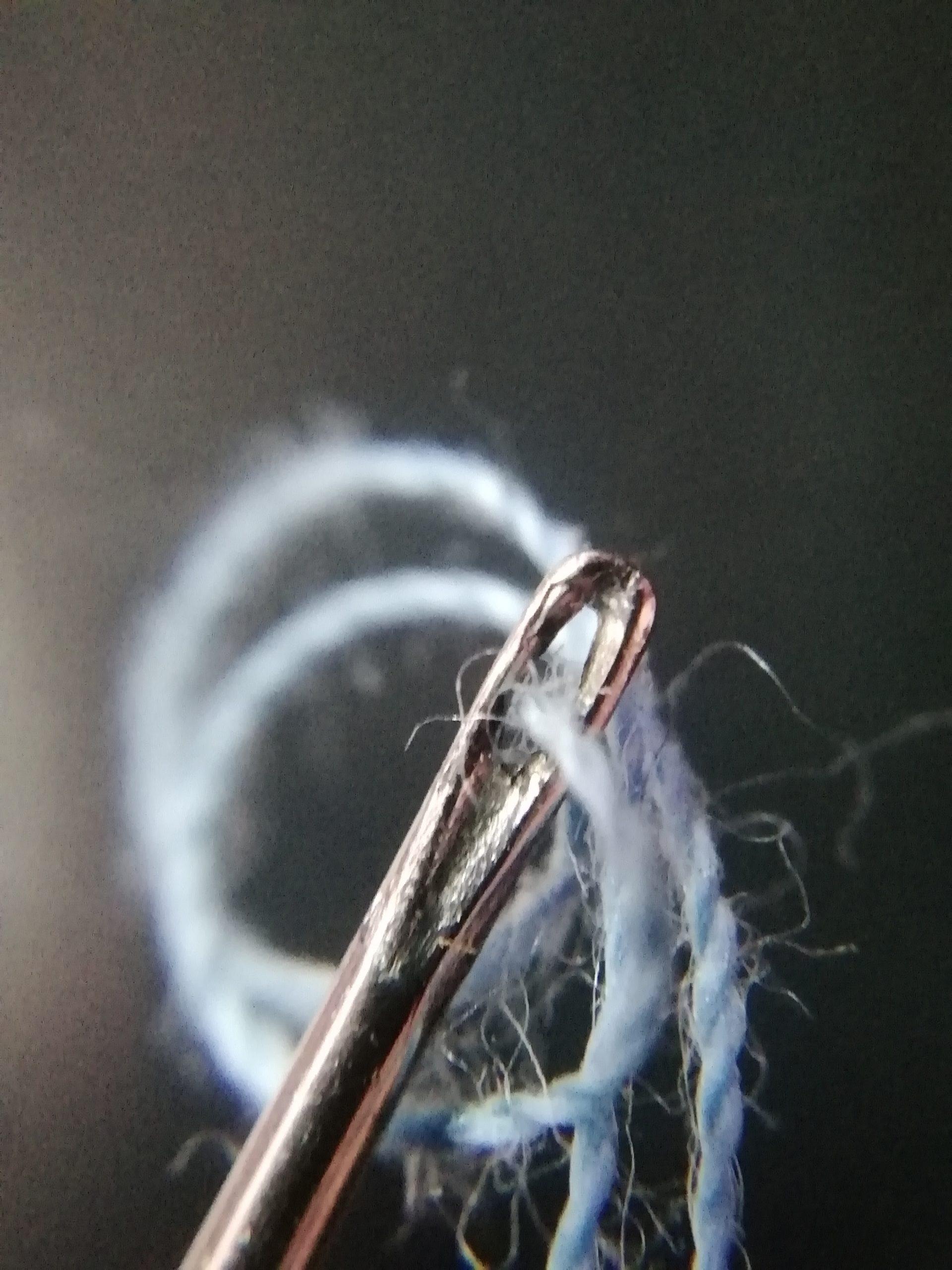 Thread in the needle