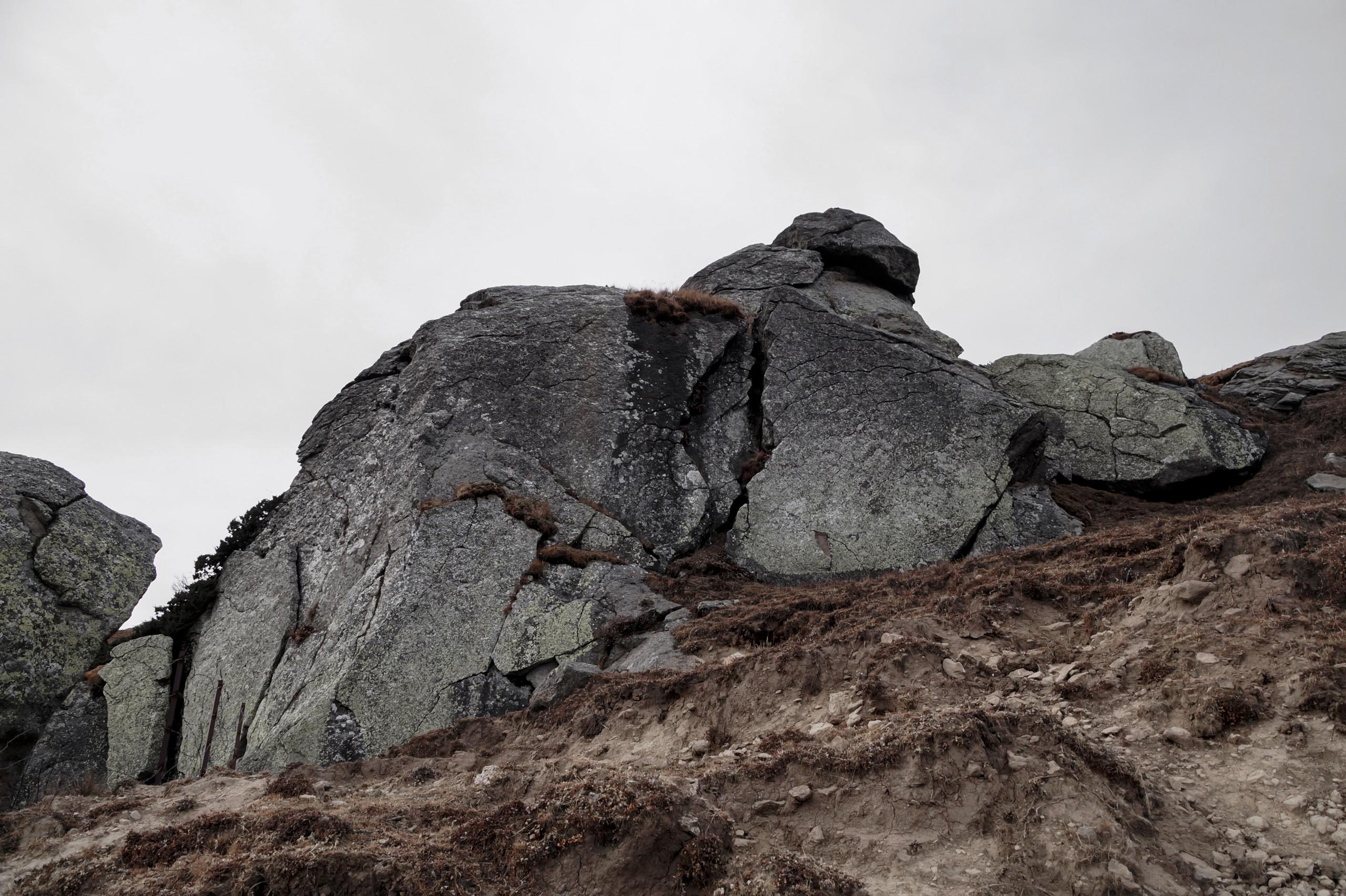 Big stone mountain