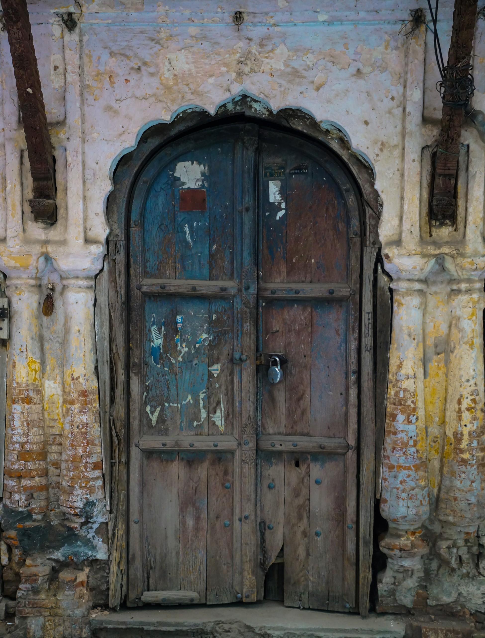 Wooden Vintage Door