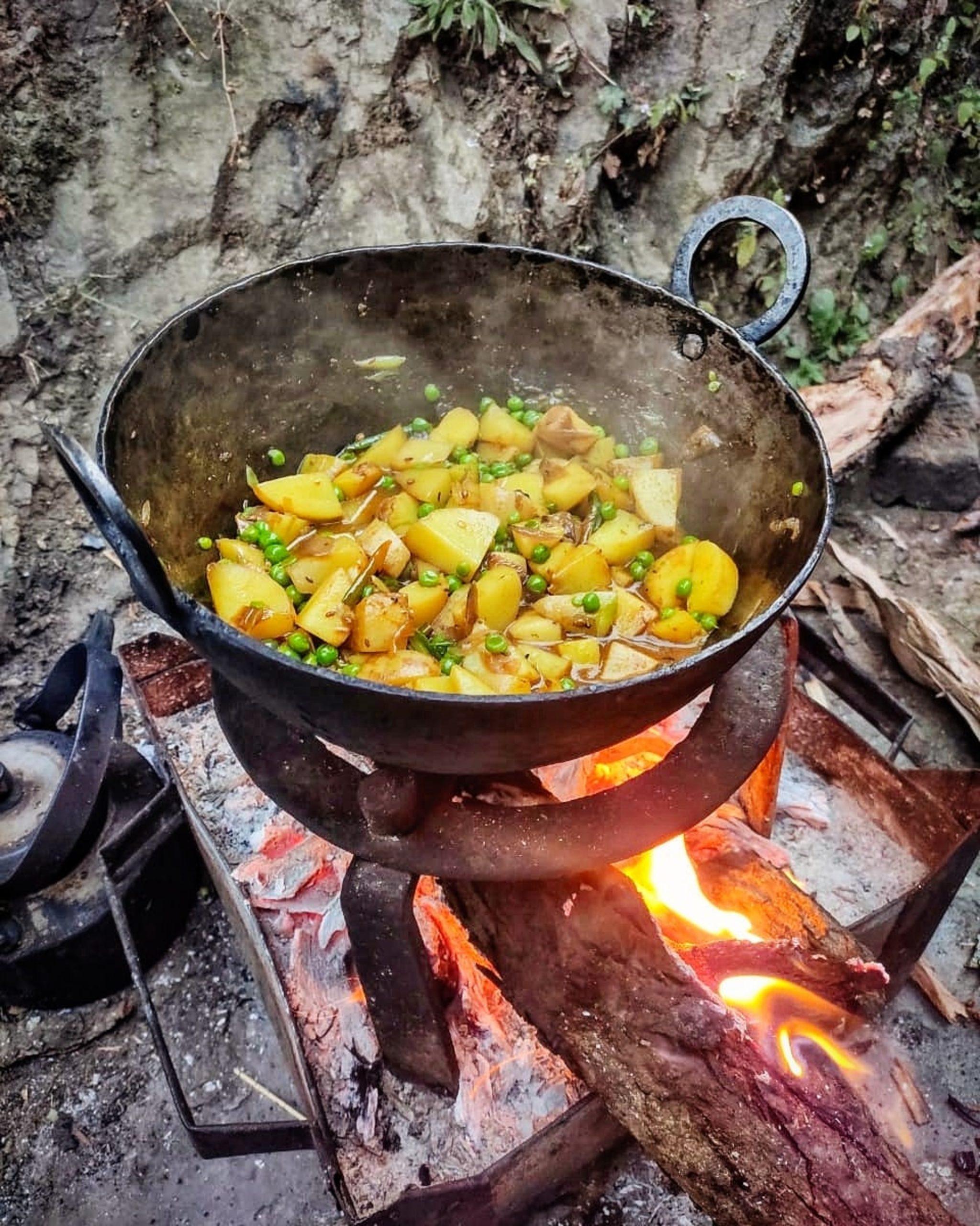 Aloo sabzi himalayan cuisine